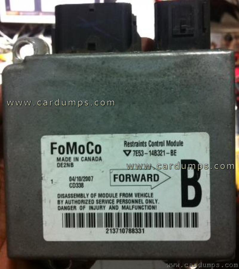 Ford Fusion 2007 Airbag 95160 7e5314b321be Fomocorhcardumps: 2007 Ford Fusion Airbag Control Module Location At Elf-jo.com