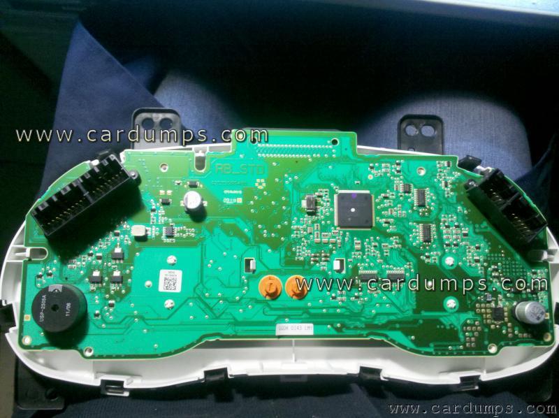 Hyundai Accent 2011 Dash 24c16 94003 4l510